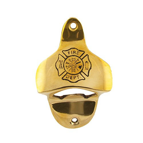 brass wall mounted bottle opener - 8