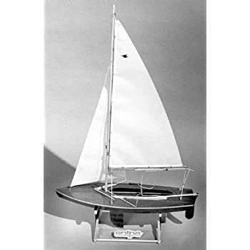 Amazon.com: Snipe Wooden Boat Kit by Dumas: Toys & Games