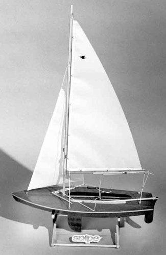 Snipe Wooden Boat Kit by Dumas