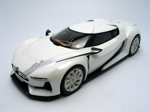 1/18 GT by CITROEN(ホワイト) 「Show room」 181610