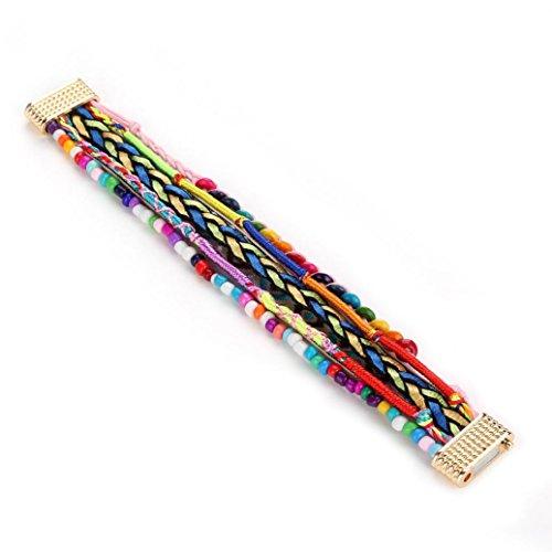 Sunward-Colorful-Bracelets-Men-Women-Hemp-Cords-Ethnic-Tribal-Bracelets