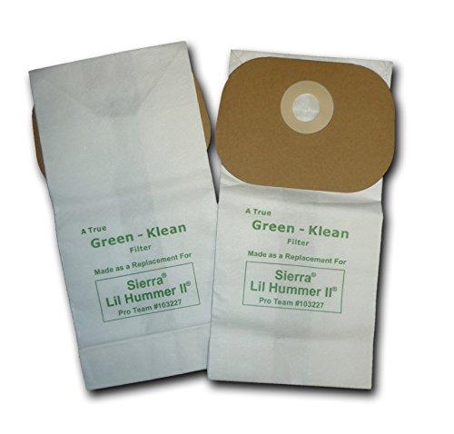 Green Klean GK-Sierra Replacement Vacuum Bags (Pack of 100)