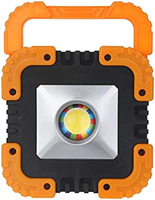 Rechargeable 30w Solar Portable Led Flood Light Outdoor Garden Work Spot Lamp Outdoor Tools Sports & Entertainment