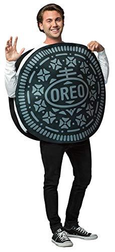 Rasta Imposta UHC Oreo Cookie Tunic Funny Theme Party Outfit Halloween Fancy Costume, OS