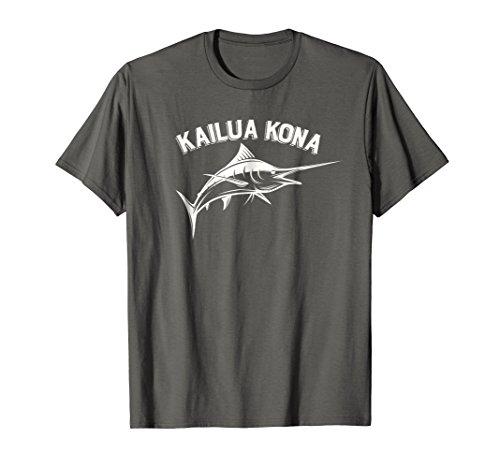 Kailua Kona, Hawaii Marlin Fishing T-Shirt