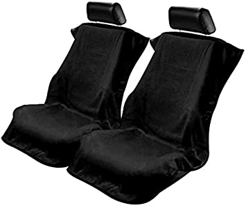 Konsole Armour CST-BLK Universal Cotton Terry//Velour Black Car Seat Cover