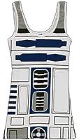 Star Wars I Am R2D2 Juniors Costume Tank Top