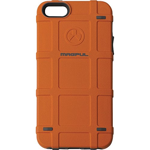 Magpul Bump Case iPhone 5/5s and iPhone SE MAG454-ORG (Orange) (Magpul Industries Iphone 5 5s Bump Case)