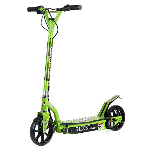 24V Green Electric Power Scooter E-Scooter 2 Wheel Rechargeable...