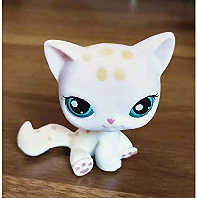 wdd Littlest Pet Store Short haired cat LPS Toy #3: Toys & Games