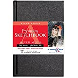 Stillman & Birn Alpha Hardbound Sketchbook, Heavyweight 100lb, Natural White, 62 Sheets, 5.5x8.5