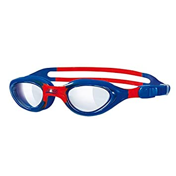 6e9b07069c0980 Zoggs Little Super Seal Kids Goggles Blue/Red: Amazon.co.uk: Sports &  Outdoors