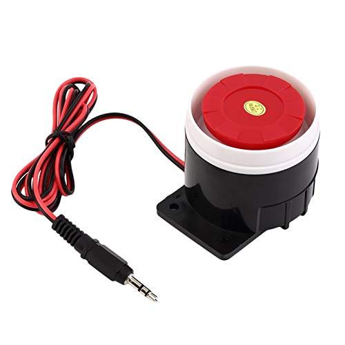 Sirène d'intérieur ultra puissante 120 dB avec câble pour la sécurité domestique DC 12 V