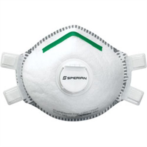 Sperian 14110439 Disposable Respirator P100 Full Face Seal, Adjustable Straps & Valve, S