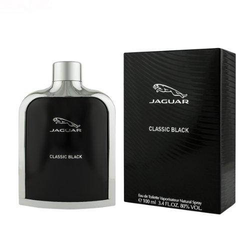 - Jaguar Eau de Toilette Spray for Men, Black, 3.4 Ounce