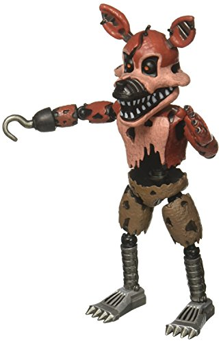 "Funko 5"" Articulated Five Nights at Freddy's - Nightmare Foxy Action Figure"