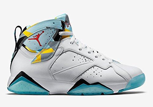 """Nike Men's Jordan Air 7 Retro """"N7"""" Basketball Shoes - 744..."""