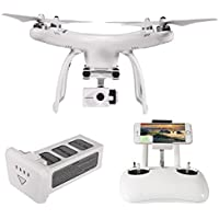 UPair 4K Plus Quadcopter Drone, Mobile APP Version RC Quadcopter with 4K UHD Camera Gimbal, Follow Me, Flight Plan