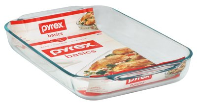World Kitchen 6001040 Oblong Baking Dish, 4-Qt.