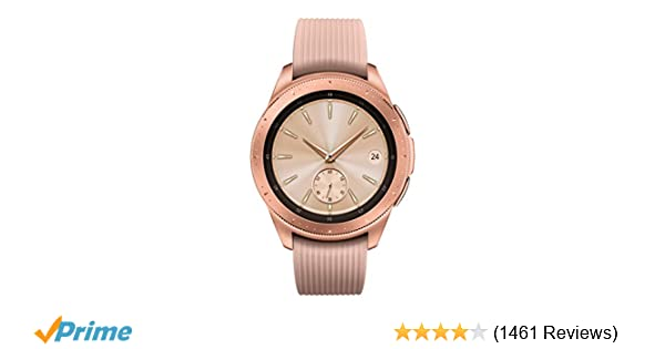 Amazon.com: Samsung Galaxy Watch (42mm) Rose Gold (Bluetooth), SM-R810NZDAXAR – US Version with Warranty: Cell Phones & Accessories