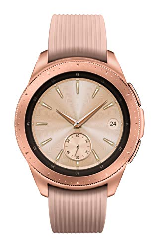Samsung Galaxy Watch smartwatch (42 mm, GPS, Bluetooth, Wifi) – Rose Gold (American version with warranty)