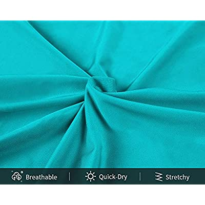Sociala Women's Plus Size Rash Guard Short Sleeve Swim Shirt Rashguard Swimwear at Women's Clothing store