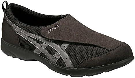 ライフウォーカー101 メンズ ウォーキングシューズ 上靴 室内シューズ ブラック FLC101