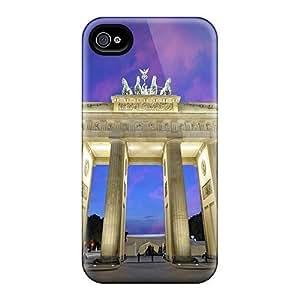 Fashion CWPWLaU7459DsWKs Case Cover For Iphone 4/4s(brenburg Gate)