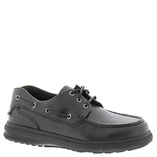 Hush Puppies Port Mens Oxford 8.5 E Us Black
