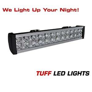 "Off Road Jeep 20"" Inch LED Light Bar - 72 Watt - 4000 Lumen UTV ATV Side By Side Similar to Rigid E Series Polaris Razor RZR ATV"