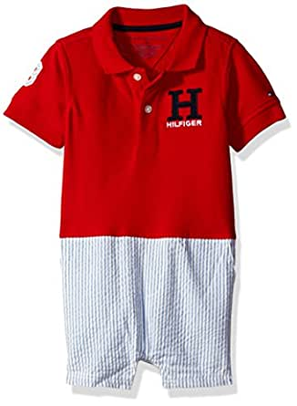 Amazon Tommy Hilfiger Baby Boys Matt Polo Romper