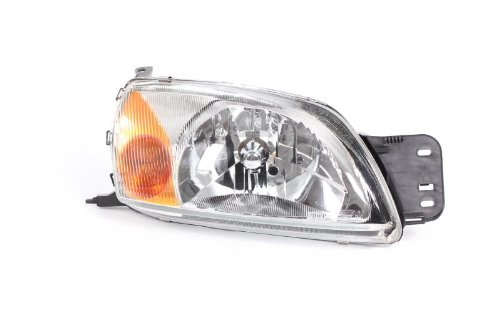 Right Driver Side Headlamp Front Head Light (With Amber Indicator Lamp Electric With Motor):