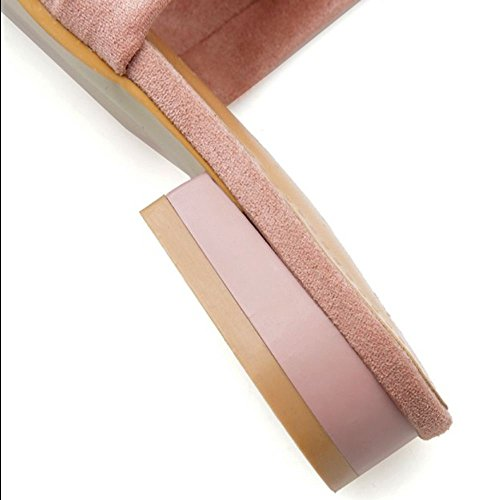 Donna 3 RAZAMAZA Sandali Basse Scivolare Pink Comfort su SxgOwqd