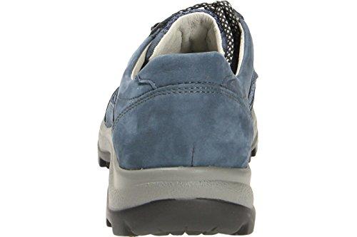Waldläufer 471000-401-206 Holly - Botas de senderismo de Piel para mujer Azul - Jeansblau