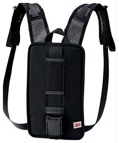 3M 00051131173583 Versaflo Back Pack for TR-600/800 PAPR, Capacity, Volume, Standard, Black by 3M (Image #1)