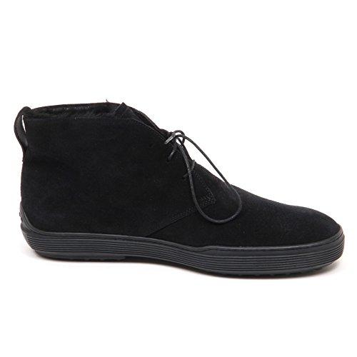 Tod's E3656 Polacchino Uomo Black Scarpe Inside Fur Boot Shoe Man Nero Profesional De Descuento 58p27Egp