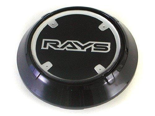 RAYS GRAM LIGHTS WR CENTER CAP [BLACK] (Gram Lights)
