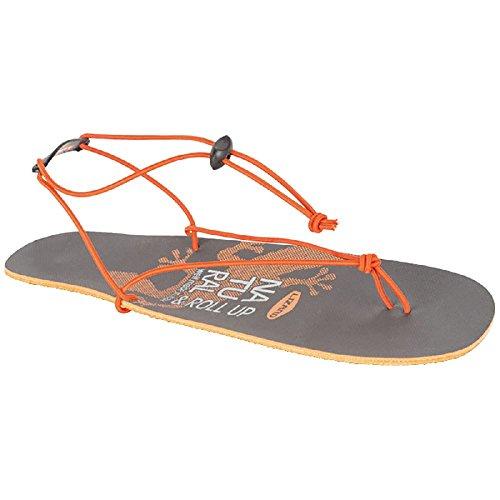 Lizard Men's Athletic Sandals Grey Orange 13 m2oCtkenZq