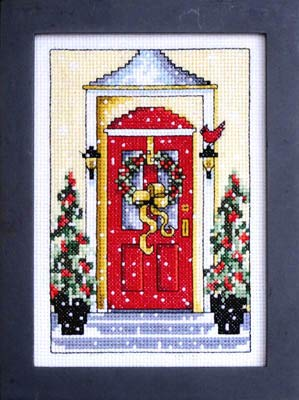 Welcome Stitch Chart Cross (Welcome Winter Cross Stitch Chart)