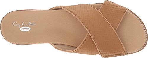 Dr. Scholl's Womens Deco - Original Collection Nude Snake Print Leather outlet cost 9txE6