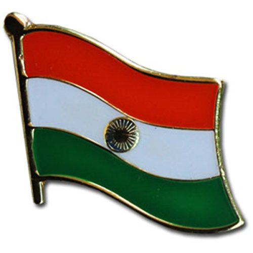 Backwoods Barnaby India Flag Lapel Pin