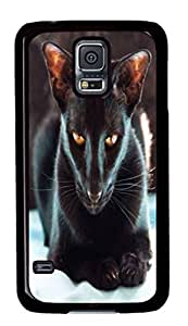 Black Back Case Cover For Samsung Galaxy S5 DIY need Durable Shell with Skin For Samsung Galaxy S5 with Short-wool with Black be Cat 2 SALE