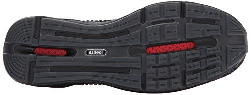 PUMA Mens Ignite Limitless Knit Sneaker Puma Black/Puma Silver lChKI0gpWA