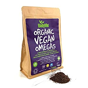 BodyMe Organic Vegan Omegas Powder | 810g | Vegan ...
