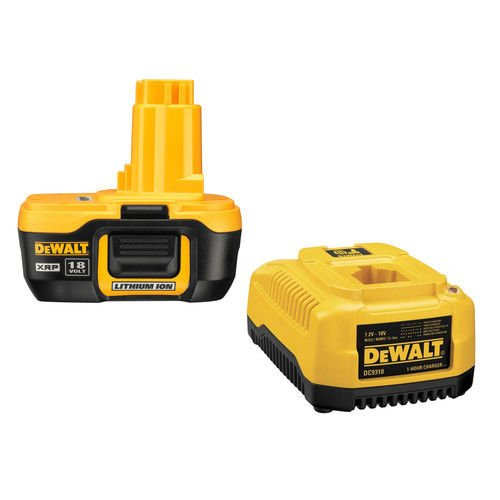 DEWALT DC9182C 18V Lithium Ion Battery and Charger Dewalt Xrp