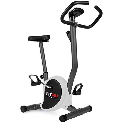 🥇 FITFIU Fitness BEST 100 Bicicleta Estática Spinning ultracompacta