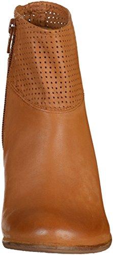 SPM 10755067 Calvinl botas para mujer de cuero Braun