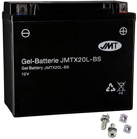 Ytx20l Bs Gel Batterie Für Fxdb 1584 Dyna Street Bob Baujahr 2007 2013 Von Jmt Auto
