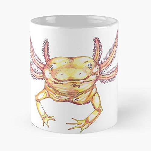 Axolotl Salamander Aquatic Amphibian - Funny Mug Coffee Gift For Christmas Father's Day ()