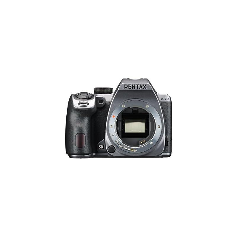 Pentax K-70 Weather-Sealed DSLR Camera,